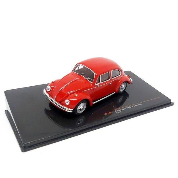 Model car Volkswagen Beetle 1302 LS 1972 red 1:43