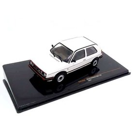 Ixo Models Volkswagen VW Golf GTI Mk II 1984 white - Model car 1:43