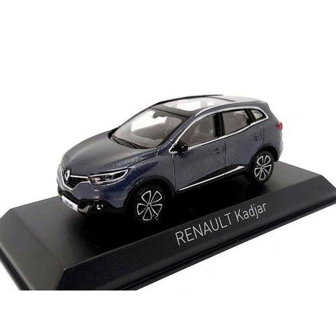 Renault Kadjar 2015 Titaniumgrijs - Modelauto 1:43