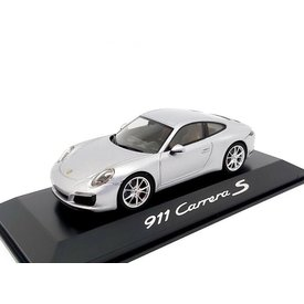 Herpa Porsche 911 (991 II) Carrera S Coupe 2016 silver - Model car 1:43