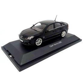 Schuco Opel Vectra OPC zwart - Modelauto 1:43