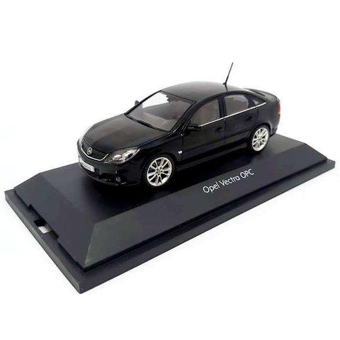 Opel Vectra OPC zwart - Modelauto 1:43