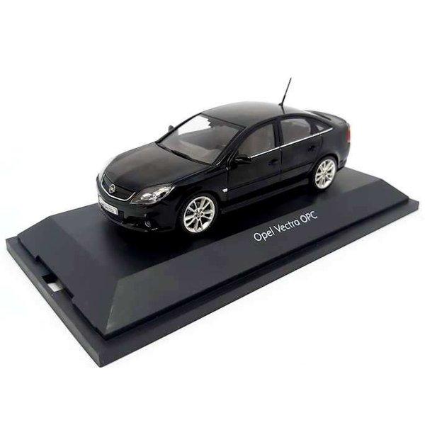 Modellauto Opel Vectra OPC schwarz 1:43