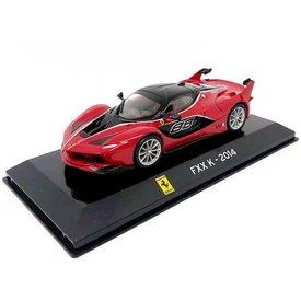 Altaya Ferrari FXX K 2014 rood - Modelauto 1:43