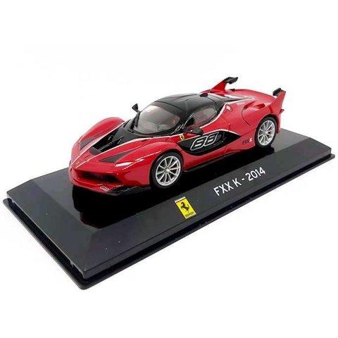 Ferrari FXX K 2014 rood - Modelauto 1:43