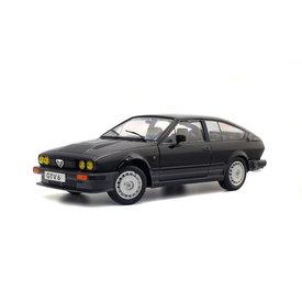Solido Alfa Romeo GTV6 1984 black - Model car 1:18