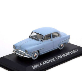 Atlas | Model car Simca Aronde 1300 Montlhéry light blue 1:43