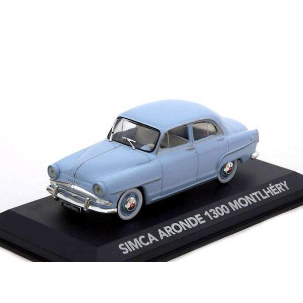 Model car Simca Aronde 1300 Montlhéry light blue 1:43 | Atlas (Editions Atlas)