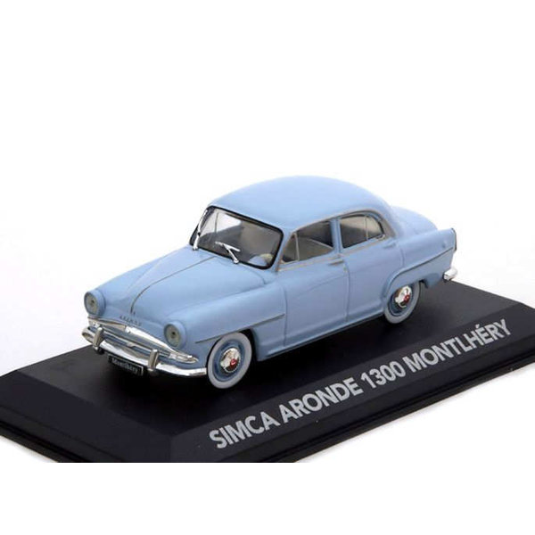 Modelauto Simca Aronde 1300 Montlhéry lichtblauw 1:43