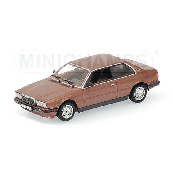 Modelauto Maserati Biturbo 1982 koper metallic 1:43