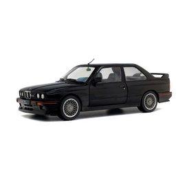 Solido BMW M3 (E30) Sport Evo zwart - Modelauto 1:18