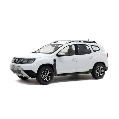 Dacia Duster Mk 2 2018 wit - Modelauto 1:18
