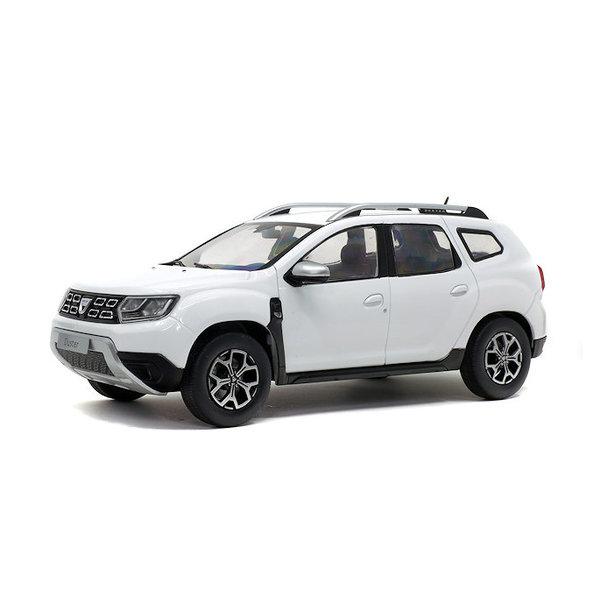 Modellauto Dacia Duster Mk 2 2018 weiß 1:18