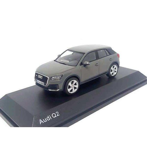 Model car Audi Q2 2016 Quantum grey 1:43
