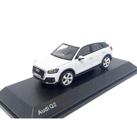 Audi Q2 2016 Glacier white - Model car 1:43