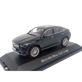 iScale Mercedes-Benz GLE Coupe (C167) 2020 donkergroen - Modelauto 1:43