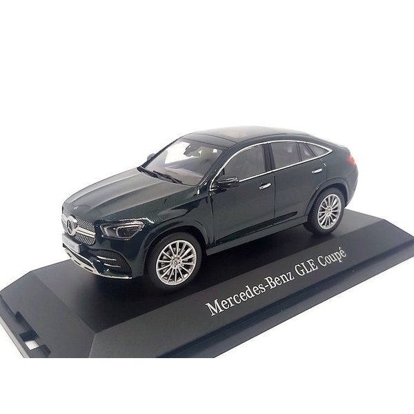 Model car Mercedes Benz GLE Coupe (C167) 2020 dark green 1:43