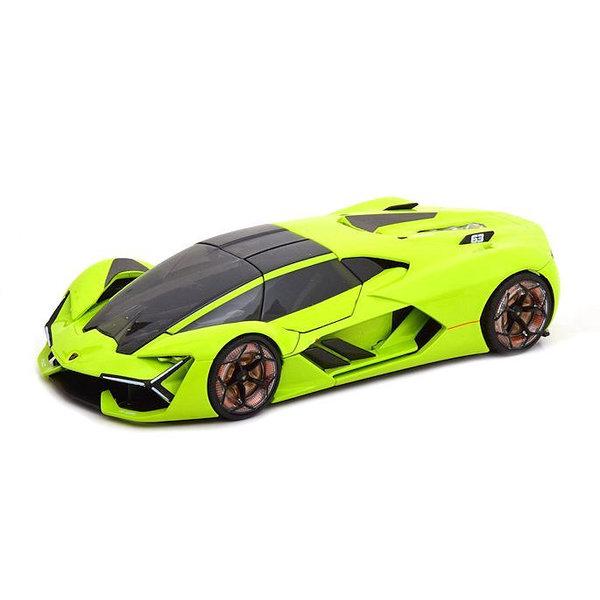 Model car Lamborghini Terzo Millennio 2018 bright green 1:24