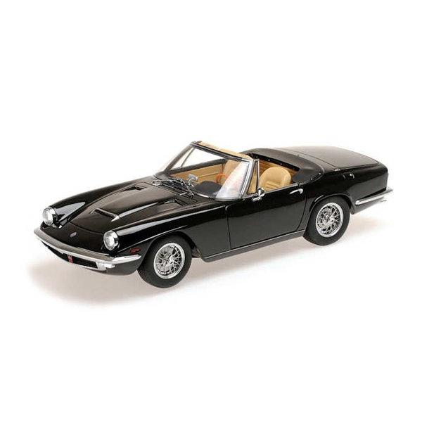 Modelauto Maserati Mistral Spyder 1964 zwart 1:18   Minichamps