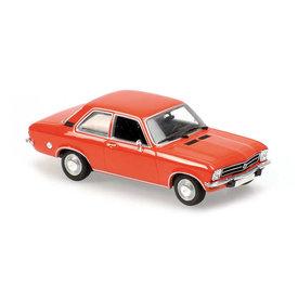 Maxichamps Modelauto Opel Ascona 1970 rood 1:43