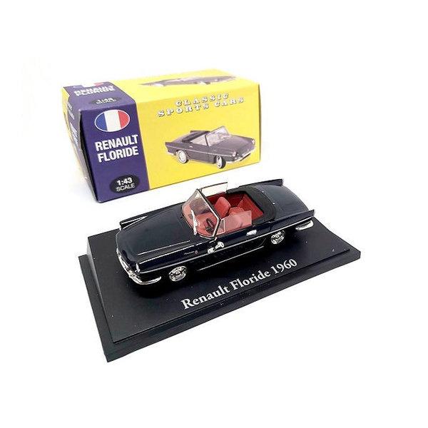 Modelauto Renault Floride 1960 zwart 1:43