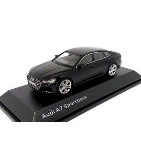 iScale Audi A7 Sportback 2017 Mythosschwarz - Modellauto 1:43