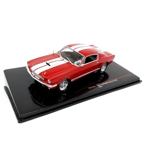Ford Mustang Shelby GT350 1965 rot/weiß - Modellauto 1:43