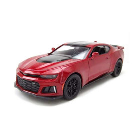 Motormax Chevrolet Camaro ZL1 2017 red metallic/black - Model car 1:24