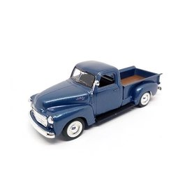 Lucky Diecast GMC Pick up 1950 blauw metallic - Modelauto 1:43