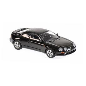 Maxichamps Modellauto Toyota Celica 1994 schwarz 1:43