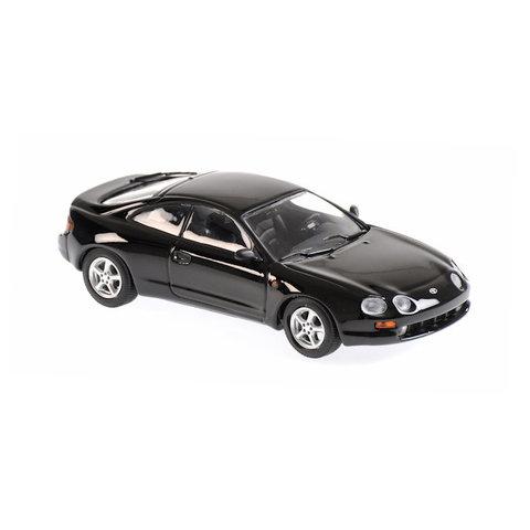 Toyota Celica 1994 black - Model car 1:43