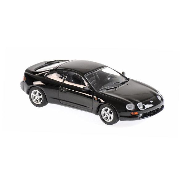 Modelauto Toyota Celica 1994 zwart 1:43