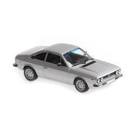 Maxichamps Lancia Beta Coupe 1980 silber - Modellauto 1:43