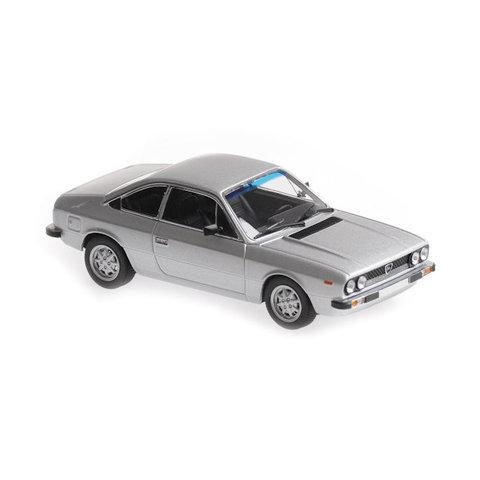 Lancia Beta Coupe 1980 zilver - Modelauto 1:43