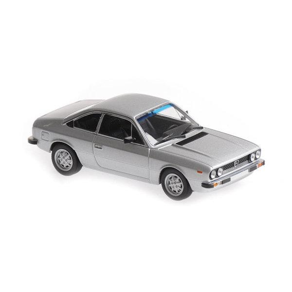 Model car Lancia Beta Coupe 1980 silver 1:43   Maxichamps
