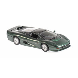 Maxichamps Jaguar XJ220 1991 green metallic - Model car 1:43