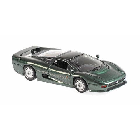 Jaguar XJ220 1991 green metallic - Model car 1:43