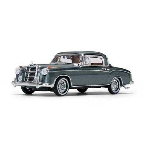 Mercedes Benz 220 SE Coupe 1959 grijs metallic - Modelauto 1:43