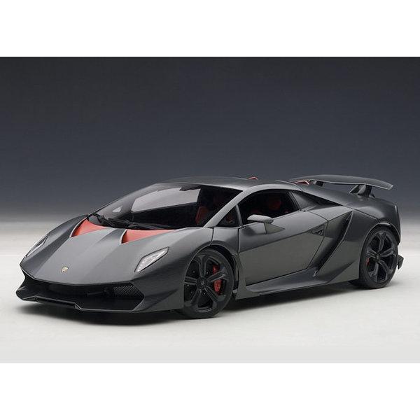 Modelauto Lamborghini Sesto Elemento 2011 Carbon grijs 1:18