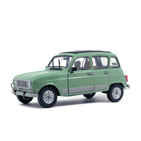 Solido Renault 4 GTL 1978 light green - Model car 1:18