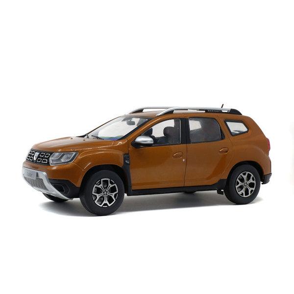 Modelauto Dacia Duster Mk 2 2018 oranje metallic 1:18