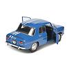 Model car Renault 8 Gordini 1100 1967 blue 1:18 | Solido