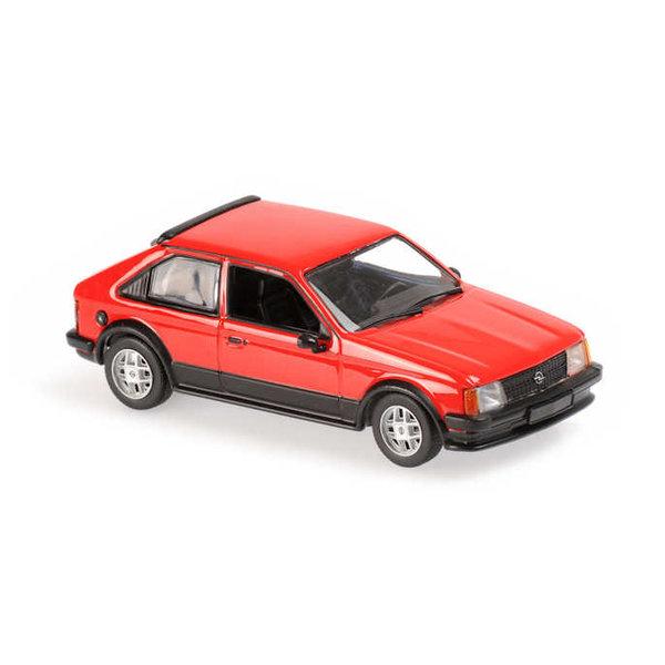 Modellauto Opel Kadett SR 1982 rot 1:43