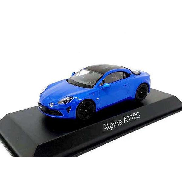 Modellauto Alpine A110S 2019 Alpine blau 1:43