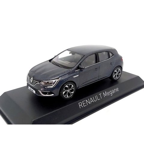 Renault Megane 2016 Titaniumgrijs - Modelauto 1:43