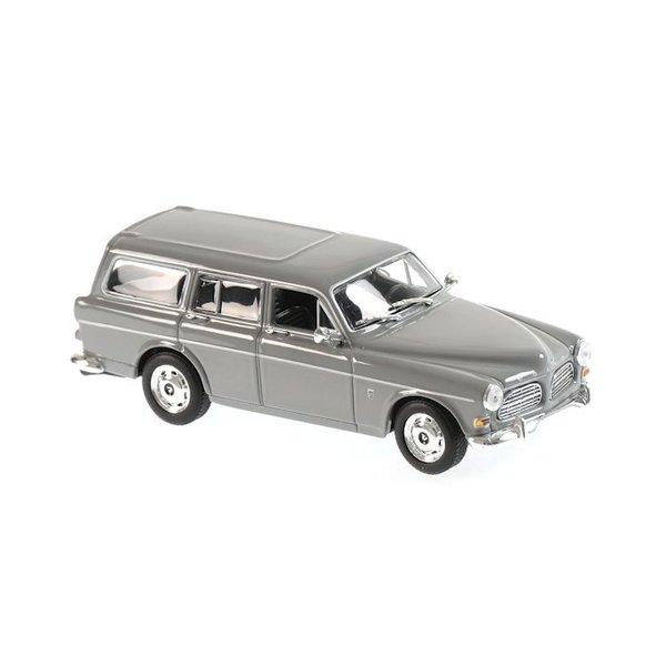 Modelauto Volvo 121 Amazon Break 1966 grijs 1:43   Maxichamps