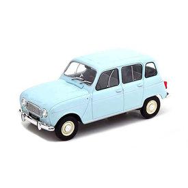 WhiteBox Renault 4L light blue - Model car 1:24