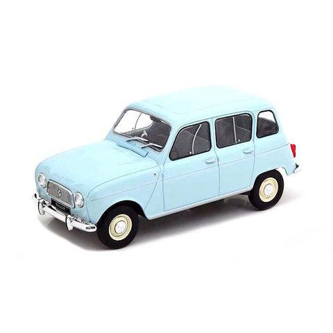 Renault 4L lichtblauw - Modelauto 1:24