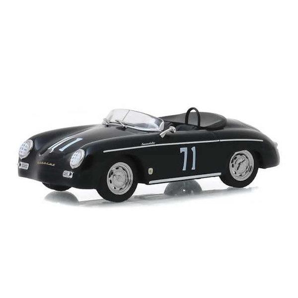 Modellauto Porsche 356 No. 71 1958 schwarz 1:43