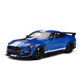 Maisto Ford Mustang Shelby GT500 2020 blue metallic - Model car 1:18